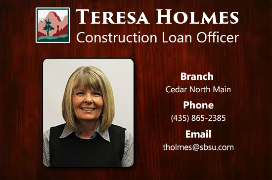 Teresa Holmes Construction Loan Officer